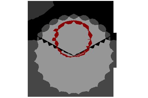Кривая силы света (круговая) светильника ЖКХ, 5 Вт 3946