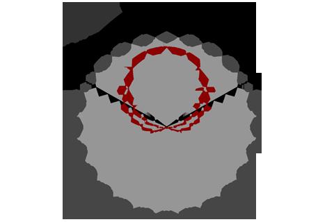 Кривая силы света (круговая) светильника Модуль, консоль МК-3, 48 Вт 3375
