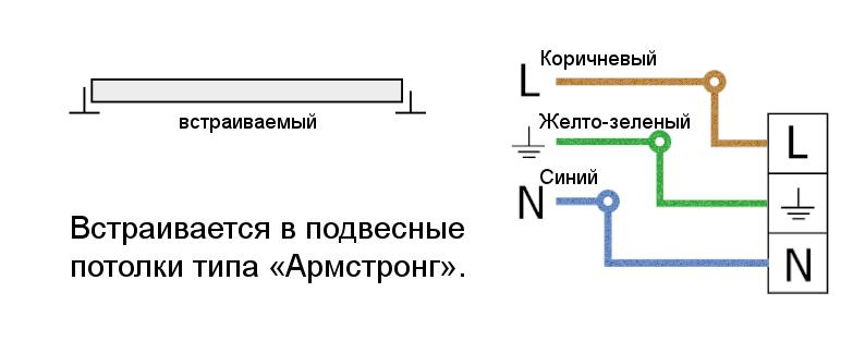 Схема крепления / подключения