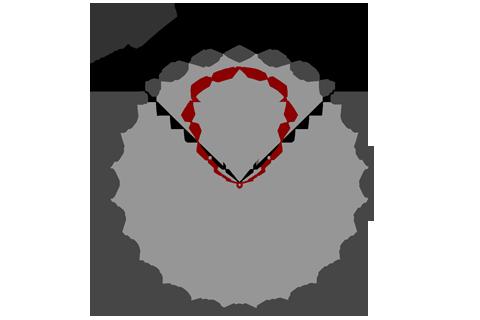 Кривая силы света (круговая) светильника Офис ViLED колотый лед, 28 Вт 3906