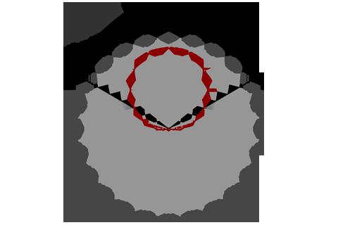 Кривая силы света (круговая) светильника ЖКХ, 8 Вт, с акустическим датчиком 3755