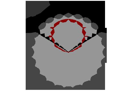 Кривая силы света (круговая) светильника Модуль, консоль К-3, 192 Вт 3070