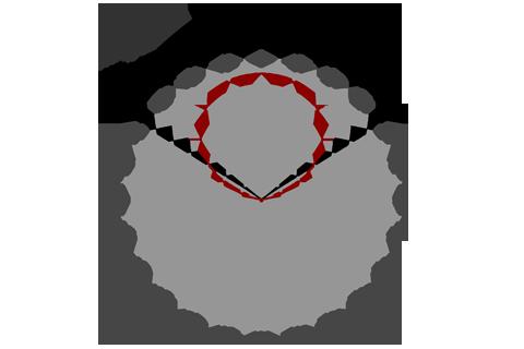 Кривая силы света (круговая) светильника Модуль, консоль, К-1, 48 Вт 3062