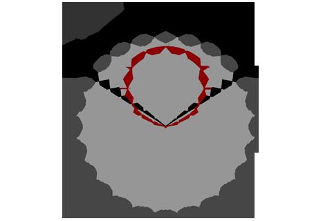 Кривая силы света (круговая) светильника Модуль, консоль К-2, 64 Вт 3080