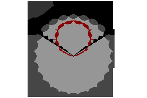 Кривая силы света (круговая) светильника Модуль, консоль К-1, 64 Вт 3061