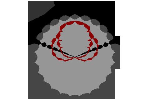 Кривая силы света (круговая) светильника Модуль, консоль МК-2, 128 Вт 3067