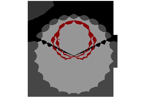 Кривая силы света (круговая) светильника Модуль, консоль МК-3, 192 Вт 3071