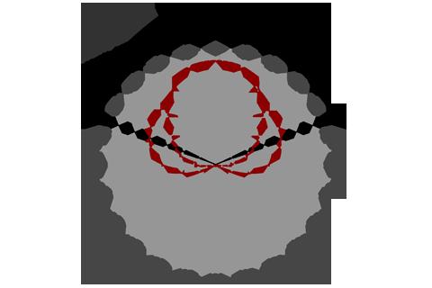 Кривая силы света (круговая) светильника Модуль, консоль МК-2, 32 Вт 3374