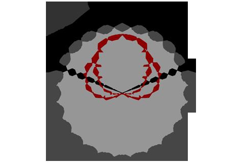Кривая силы света (круговая) светильника Модуль, консоль, МК-2, 96 Вт 3073