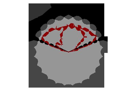 Кривая силы света (круговая) светильника Модуль Магистраль, консоль КМО-1, 64 Вт, светодиодный светильник 4653