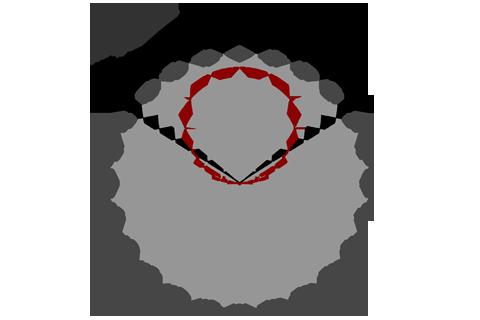 Кривая силы света (круговая) светильника Модуль Галочка, универсальный, 192 Вт  3094