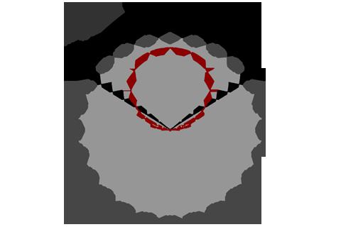 Кривая силы света (круговая) светильника Модуль Галочка, универсальный, 64 Вт 3089