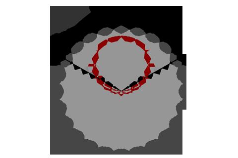 Кривая силы света (круговая) светильника Школьный матовый, 28 Вт 4800