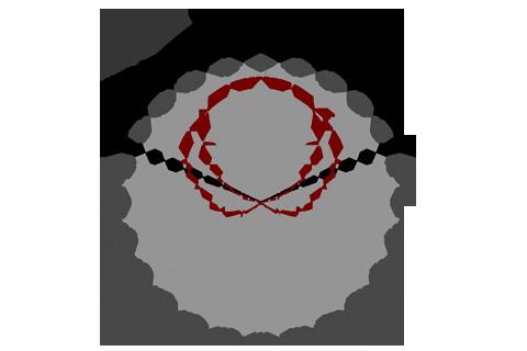Кривая силы света (круговая) светильника Модуль, консоль МК-3, 288 Вт, светодиодный светильник 4662