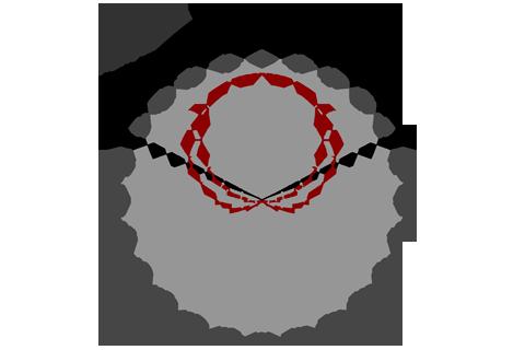 Кривая силы света (круговая) светильника Модуль, консоль МК-3, 96 Вт 3084