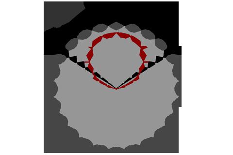Кривая силы света (круговая) светильника Модуль, универсальный У-3, 96 Вт 3086