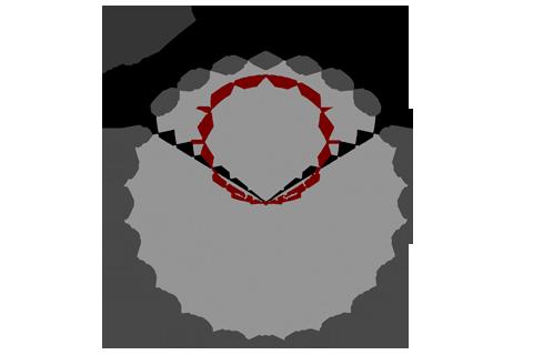 Кривая силы света (круговая) светильника Модуль Галочка, универсальный, 192 Вт 4643